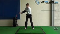 Shorter Golf Swing Drill 4 Start down before you finish the backswing Video - by Pete Styles