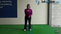 Stop Bending your Wrist for More Consistent Putting Women Golfer Tip Video - by Natalie Adams