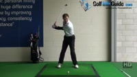 Golf Drill Tip: Stop pushing - Maintain balance Video - Lesson by PGA Pro Pete Styles