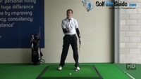 Golf Drill Tip: Stop pushing - Strong front side Video - Lesson by PGA Pro Pete Styles