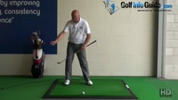 Stop your Backswing Sway for More Power - Senior Golf Tip Video - by Dean Butler