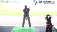 Straight Golf Shot Require Fully Extended Arms At Impact Video - by Pete Styles
