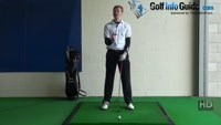 Thin Golf Shot Drill 2: Straight arm finish for chip shot fix, Golf Video - by Pete Styles