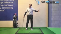 Straight Golf Shots Require Fully Extended Arms at Impact Video - by Pete Styles