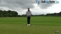 Straighten The Left Leg Drill To Stop Pushed Golf Shots Video - by PGA Instructor Peter Finch