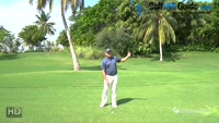 Strategy for Downhill Lie - Video Lesson by Tom Stickney Top 100 Teacher