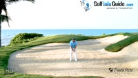 Strategy for High Bunker Shots - Video Lesson by Tom Stickney Top 100 Teacher