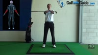 Golf Stretches 14 - Wind the club up wrist strengthen Video - by Pete Styles