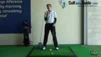 Strike the Golf Ball Better. Drive The Hips, Tour Alignment Sticks Drill Video - by Pete Styles