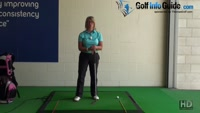 Swing Upright to Cure and Fix the Shanks - Golf Swing Tip for Women Video - by Natalie Adams