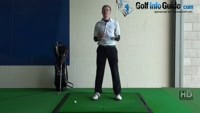 Shank Golf Shot Problem Drill 2: Swing and miss on inside Video - by Pete Styles