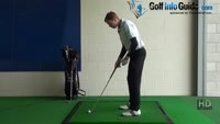 Toe Golf Shot Drill 2: Swing and miss on the outside Video - by Pete Styles