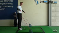 Swing it on Place and Straighter with the Golf Tour Alignment Sticks Drill Video - by Pete Styles