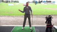 Swinging Down Through The Golf Ball Video - by Pete Styles