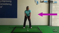 Takeaway Correct Shoulder Turn - Golf Swing Tip for Women Video - by Natalie Adams