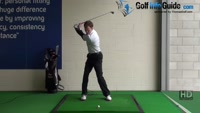 Golf Drill Tip: Tee peg in top of grip for good release Video - by Pete Styles