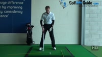 Tee peg in top of grip for good transition, Golf Video - by Pete Styles