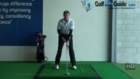 Tee peg in top of grip for online backswing, Golf Video - by Pete Styles