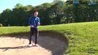 The Basics Of A High Bunker Shot In Golf  Video - by Pete Styles