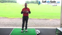 The Correct Golf Address Position Of Left Arm And Shoulder Video - by Peter Finch