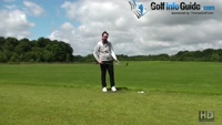 The Correct Set-Up For A Long Golf Chip Shot Video - by Peter Finch