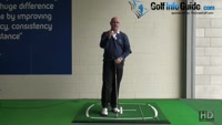 The Golf Ball Logo Can Help with Alignment to Set Up Fade or Draws Golf Senior Tip Video - by Dean Butler