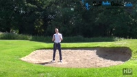 The Mental Side Of Hitting From The Back Of The Golf Bunker Video - by Pete Styles