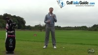 The Role Of The Golf Ball Three Quarter Wedge Shots Video - by Pete Styles