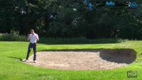 The Technical Side Of Hitting From The Back Of The Golf Bunker Video - by Pete Styles