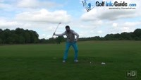 The Through Swing Moving The Club In To Out - Senior Golf Tip Video - by Peter Finch