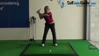 The Correct Way to Clear the Hips to Cure Accuracy and Distance Problems - Ladies Golf Tip Video - by Natalie Adams