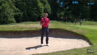 Thoughts And Techniques For Playing From The Back Of A Golf Greenside Bunker Video - by Pete Styles