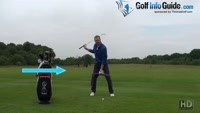 Top 4 Tips On Footwork In The Golf Swing Video - by Pete Styles