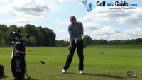 Touching Forearms For Proper Release Through The Golf Ball Video - by Pete Styles