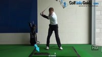 Fat Golf Shot Drill: Towel 6 inches behind ball Video - by Pete Styles