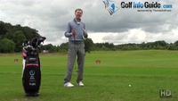 Trying An Open Golf Stance On The Driving Range Video - by Pete Styles