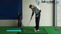 Toe Golf Shot Drill 3: Two balls hit outer ball only Video - by Pete Styles