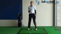 Thin Golf Shot Drill 6: Two clubs to create extension Video - by Pete Styles