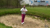 Understanding Sand Differences In Spinning Golf Bunker Shots Video - by Peter Finch