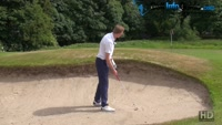 Using Your Fairway Swing To Escape Golf Bunkers Video - by Pete Styles