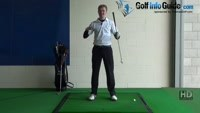 Toe Golf Shot Drill 6: Weight onto tip toes into follow through Video - by Pete Styles