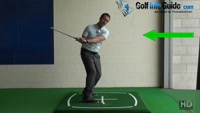 Golf Down Swing, What Does Stuck Behind Mean? How Can I Stop It Video - by PGA Instructor Peter Finch