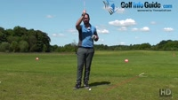 What To Expect When Hitting Down On A Golf Ball Video - by Peter Finch