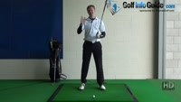 Shank Golf Shot Problem Drill 1 Video - by Pete Styles