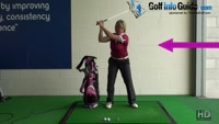 What Is An Arms-Only Swing For Women Golfers Video - by Natalie Adams