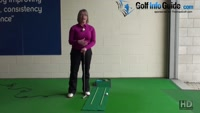 What is the Benefit of Holding the Finish at the End of Putting Stoke Ladies Putter Tip Video - by Natalie Adams