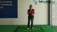 What is the Correct Chipping Hands Position for Women Golfers when playing Golf Chipping Shots Video - by Natalie Adams