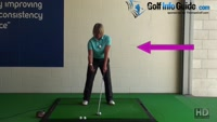 What is the Correct Right Arm Swing Sequence From  Start to Finish - Golf Swing Tip for Women Video - by Natalie Adams