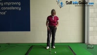 What is the Correct Start Position and Swing for Long Iron Play Golf tip for Women Video - by Natalie Adams