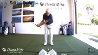 When Pitching Keep Your Rear Shoulder Moving Lesson by PGA Pro Tom Stickney
